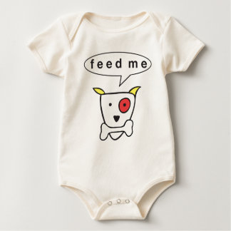 """Feed Me Baby Bodysuit"