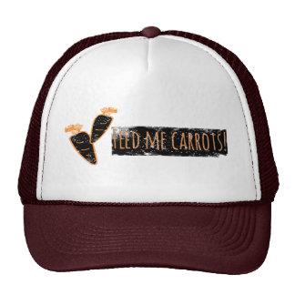 Feed me Carrots Hat / Cap