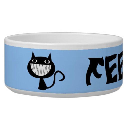 Feed Me! Cat Dish Dog Food Bowl