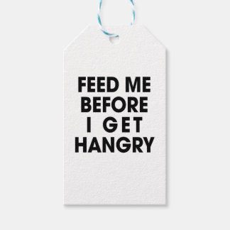 Feed Me Gift Tags