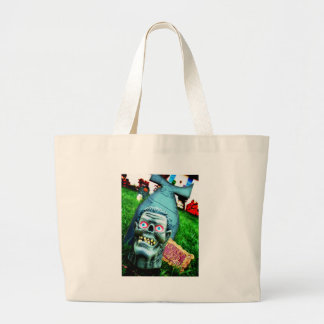 Feed Me Jumbo Tote Bag