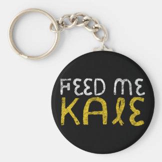 Feed me kale key ring