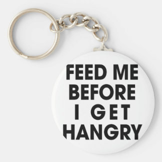 Feed Me Key Ring