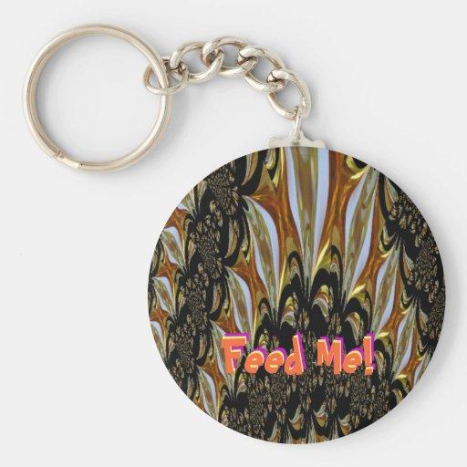 Feed Me Keychain