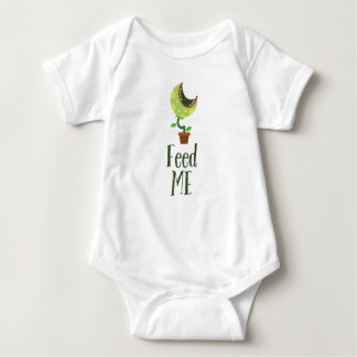 Feed Me • Monster outfit for Babies Baby Bodysuit