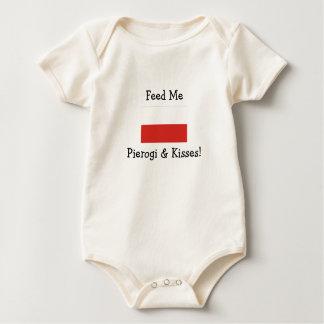 Feed Me Pierogi & Kisses! Baby Bodysuit