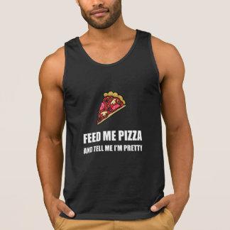 Feed Me Pizza Pretty Singlet