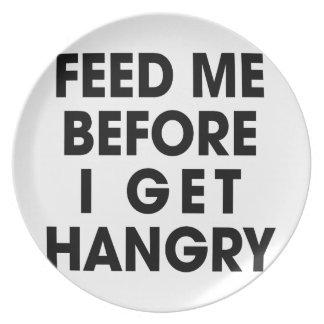 Feed Me Plate