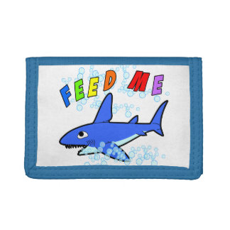 Feed Me Shark Wallet