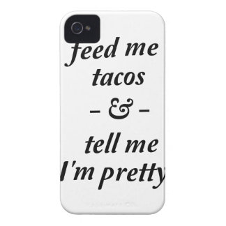 Feed Me Tacos Case-Mate iPhone 4 Cases