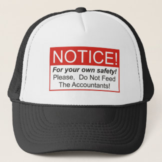 Feed The Accountants Trucker Hat