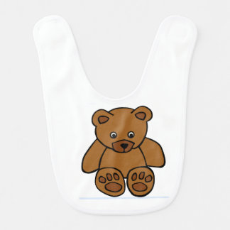 Feed the Bear Baby Bib