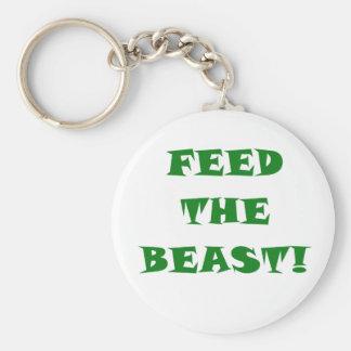 Feed the Beast Key Chain