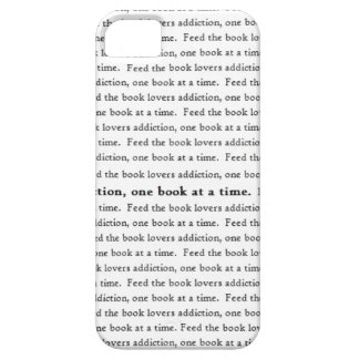 Feed The Book Lovers Addiction iPhone 5/5S iPhone 5 Case
