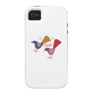 Feed The Flock iPhone 4 Covers