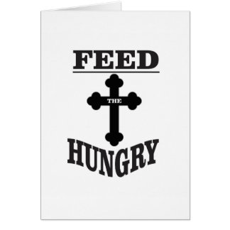 feed the Hungry Card