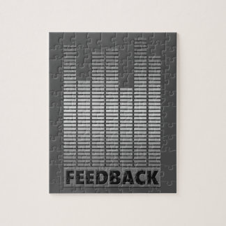 Feedback concept. jigsaw puzzle