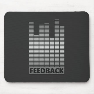 Feedback concept. mouse pad