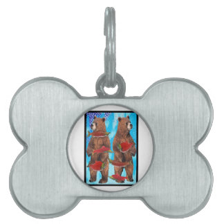 Feeding Frenzy Pet Tag
