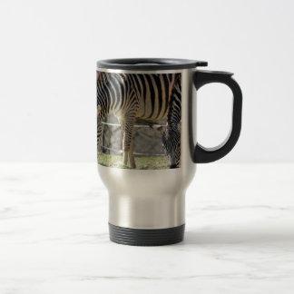 Feeding Zebras Travel Mug