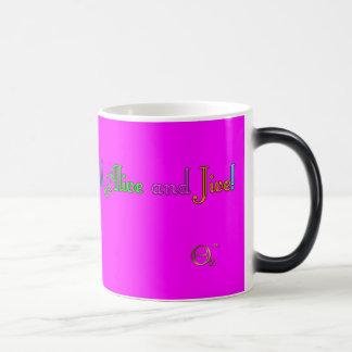 Feel Alive and Jive Morphing Mug