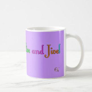 Feel Alive and Jive! Basic White Mug