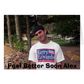 Feel Better Alex Card