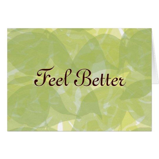 Feel Better Card