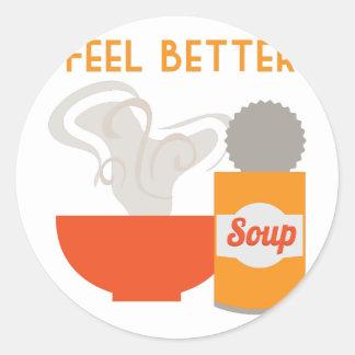 Feel Better Classic Round Sticker