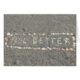 Feel Better/ Get Well Soon Seashells Greeting Card