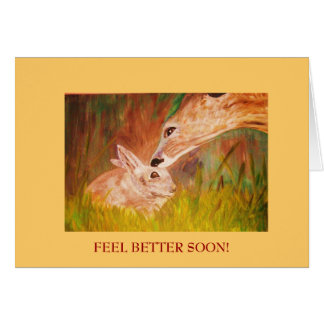 """FEEL BETTER SOON! GREETING CARD"