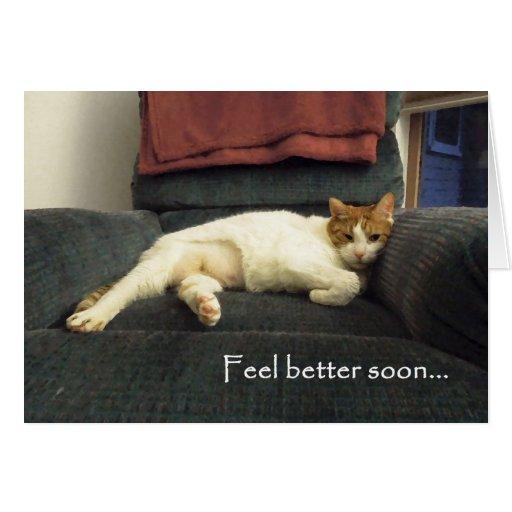 Feel better soon card - Get well soon card
