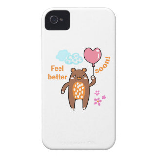 Feel Better Soon iPhone 4 Case-Mate Case