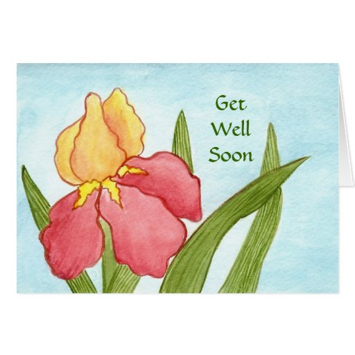 Feel Better Soon from hospital  Card