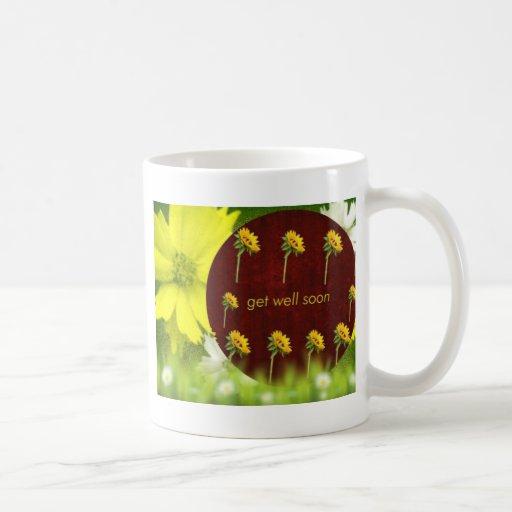 feel better soon get better soon get well coffee mugs