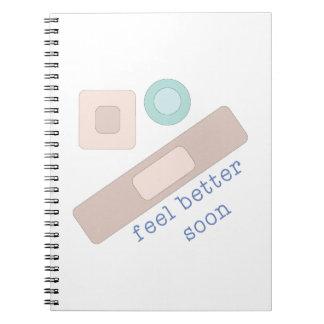 Feel Better Soon Spiral Notebook