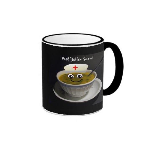 Feel Better Soon Nurse to Health Chicken Soup Mug