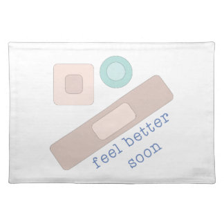Feel Better Soon Cloth Placemat