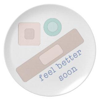 Feel Better Soon Plate