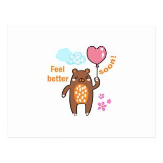 Feel Better Soon Postcard
