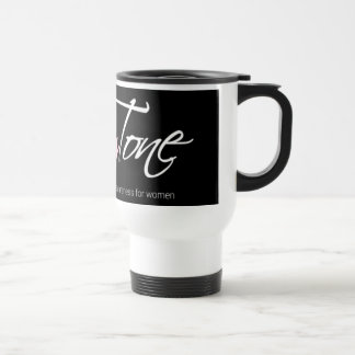Feel empowered as you drink to your health travel mug