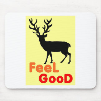 Feel good Deer shadow Mouse Pad