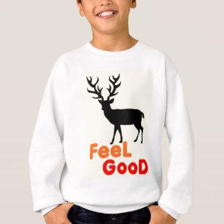 Feel good Deer shadow Sweatshirt