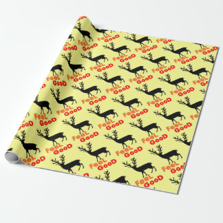 Feel good Deer shadow Wrapping Paper