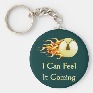 Feel It Coming Pinball Key Ring