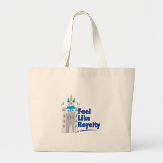 Feel Like Royalty Large Tote Bag