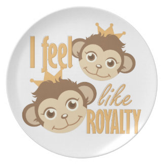 Feel Like Royalty Party Plate