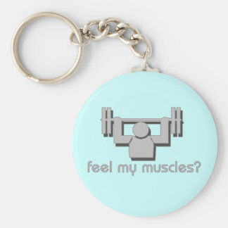 Feel My Muscles Key Ring