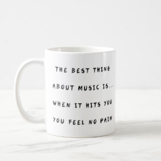 Feel No Pain Coffee Mug