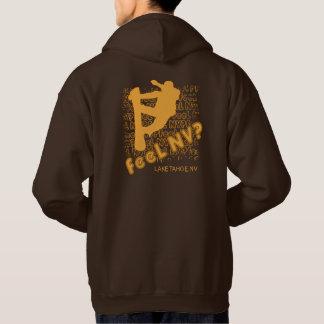 feel NV? (TM) Snowboarder Hoodie Sweatshirt
